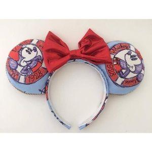 Nautical Mickey Mouse ears Disney